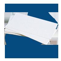 Huber-drittel-Briefpapier