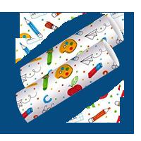 Huber-drittel-Geschenkpapier